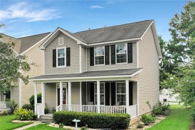 Bluffton Single Family Home For Sale: 66 Red Cedar Street