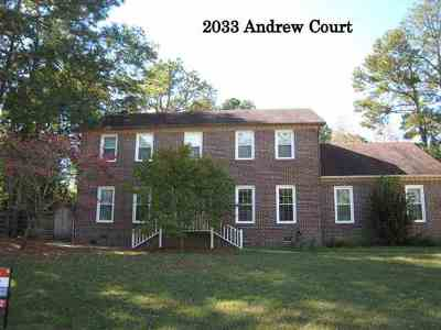 Single Family Home Sold: 2033 Andrew Court