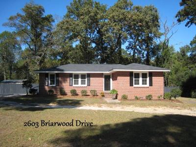 Single Family Home Sold: 2603 Briarwood Drive