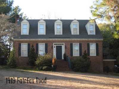Single Family Home Sold: 1419 Fairfax Road