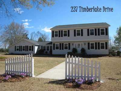 Single Family Home Sold: 237 Timberlake Drive