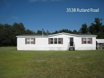 Mobile/Manufactured Sold: 3538 Rutland Road