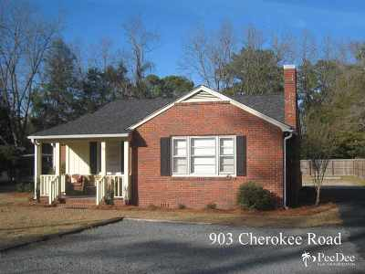 Single Family Home Sold: 903 Cherokee Road