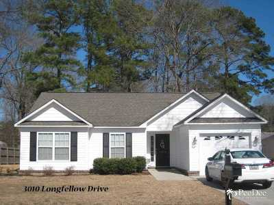 Single Family Home Sold: 3010 Longfellow Drive
