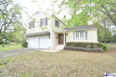 Bennettsville Single Family Home For Sale: 123 So. Everett Street