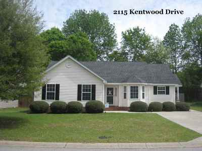 Single Family Home Sold: 2115 Kentwood Drive