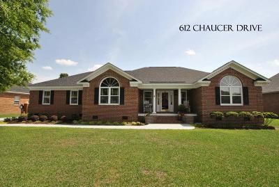 Single Family Home Sold: 612 Chaucer Drive