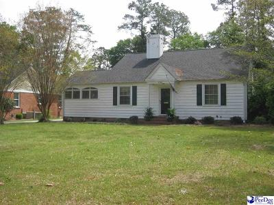 Florence SC Single Family Home Sold: $198,000