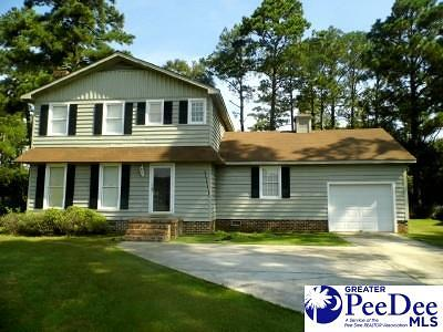 Dillon SC Single Family Home For Sale: $115,900