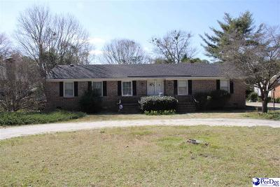 Hartsville Single Family Home For Sale: 604 Wilson