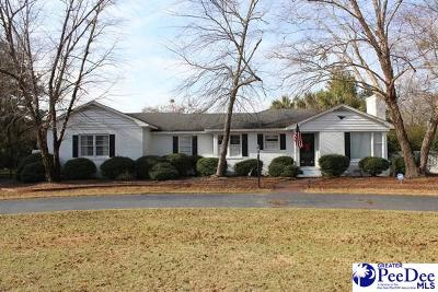 Darlington Single Family Home For Sale: 2402 N Governors Williams