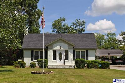 Marion SC Single Family Home Uc/Show For Back Up: $125,000