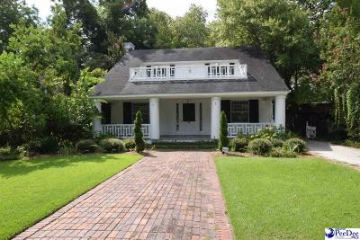 Florence SC Single Family Home Sold: $110,000