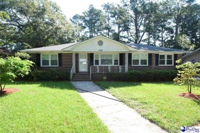 Florence SC Single Family Home Sold: $117,250