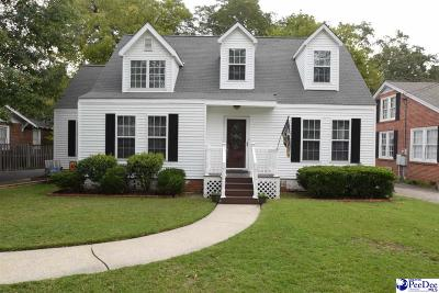 Florence SC Single Family Home Sold: $187,000