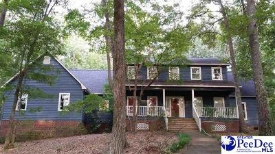 Hartsville Single Family Home Active-Extended: 879 Deer Run Drive