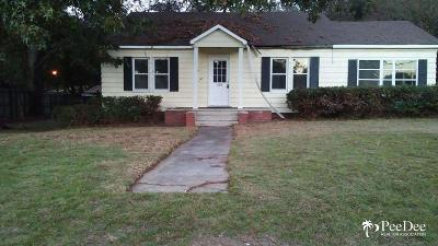 Hartsville Single Family Home For Sale: 309 Patrick Hwy