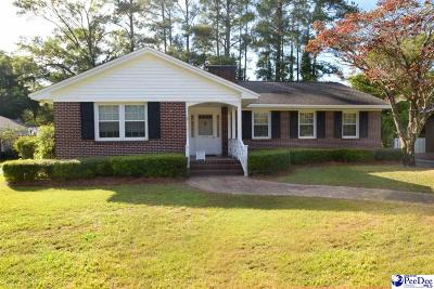 Florence SC Single Family Home Sold: $164,150