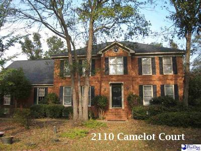 Single Family Home Sold: 2110 Camelot Court