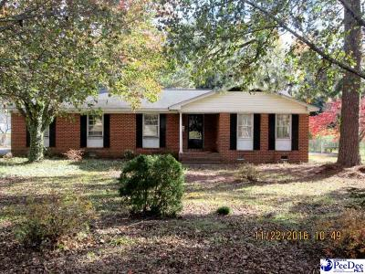 Bennettsville Single Family Home For Sale: 500 Jefferson Street