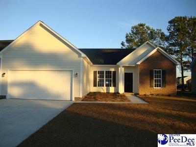 Florence County Single Family Home For Sale: 3014 Red Berry Cir