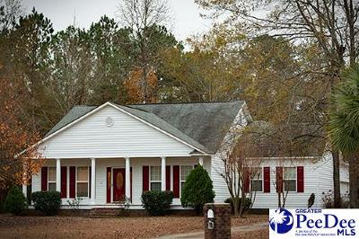 Florence SC Single Family Home Sold: $179,900