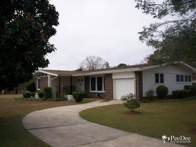 Bennettsville Single Family Home For Sale: 629 N Cook Street