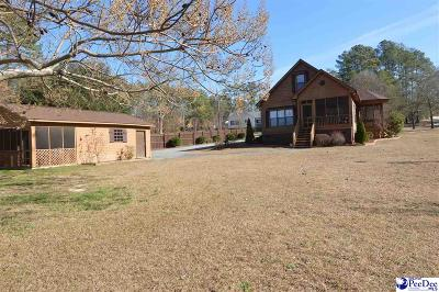 Hartsville Single Family Home Uc/Show For Back Up: 2408 Topsail Drive
