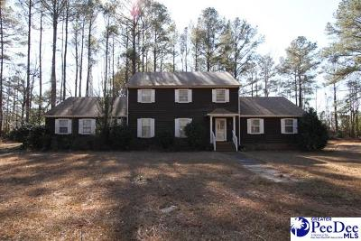 Timmonsville Single Family Home For Sale: 514 Crescent Drive