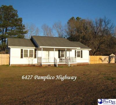 Single Family Home Sold: 6427 Pamplico Highway