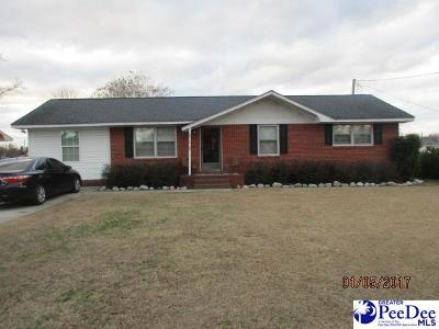 Dillon SC Single Family Home Uc/Show For Back Up: $135,900