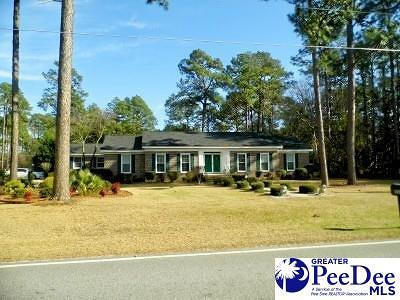 Dillon SC Single Family Home For Sale: $179,900