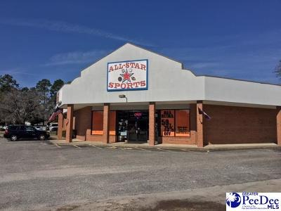 Florence, Flrorence, Marion, Pamplico Commercial For Sale: 1521 Second Loop Road