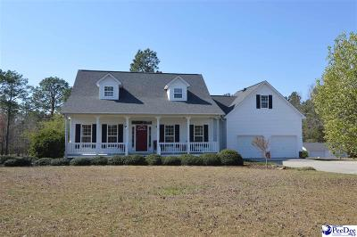 Hartsville SC Single Family Home Uc/Show For Back Up: $224,750