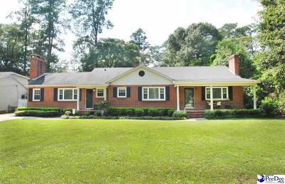 Florence SC Single Family Home For Sale: $210,900
