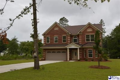 Hartsville Single Family Home Uc/Show For Back Up: 842 Fairway Drive
