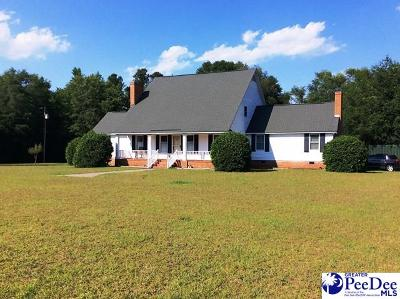 Florence Single Family Home For Sale: 1514 Francis Marion Road