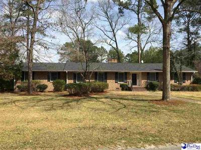 Hartsville Single Family Home For Sale: 2108 Valley Drive
