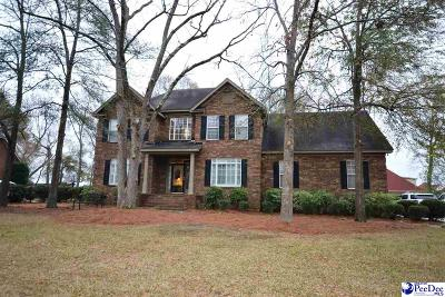 Florence Single Family Home For Sale: 3128 Rutledge Manor Drive
