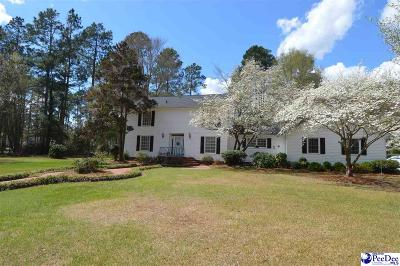 Hartsville SC Single Family Home For Sale: $247,900