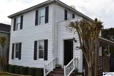 Florence SC Single Family Home Active-Extended: $89,000