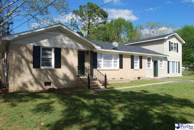Florence Single Family Home For Sale: 153 E Cooper Circle