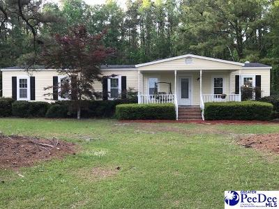 Kingstree Single Family Home Uc/Show For Back Up: 1268 Cedar Swamp Road