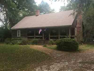 Hamer Single Family Home For Sale: 126 E Country Club Rd