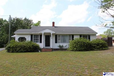 Hartsville Single Family Home For Sale: 110 Golf Course Road