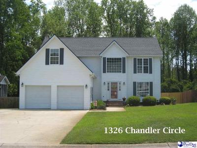 Single Family Home Sold: 1326 Chandler Circle