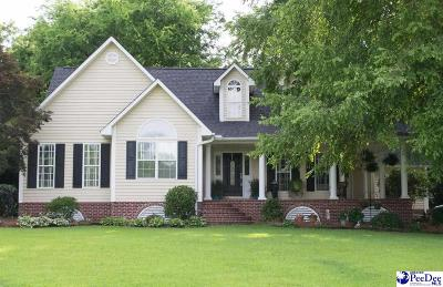Hartsville Single Family Home Uc/Show For Back Up: 910 Huntington Drive