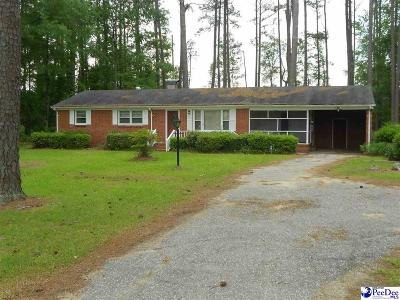 Marion SC Single Family Home For Sale: $77,500