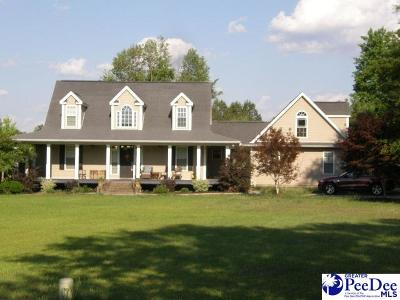 Timmonsville Single Family Home Uc/Show For Back Up: 3200 Twin Church