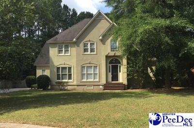 Florence County Single Family Home Active-Price Change: 3326 Stafford